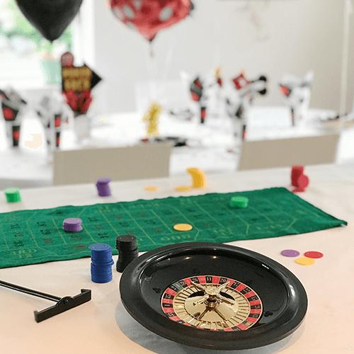 Casino-4 Detvier Børnefødselsdag temafest