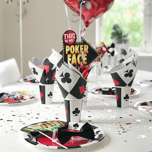 Casino-5. Detvier Børnefødselsdag temafest