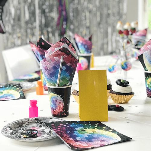 Disco-1 Detvier Børnefødselsdag temafest