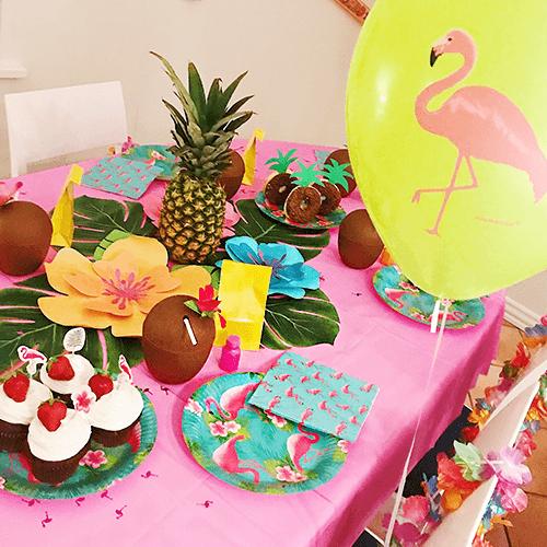 Hawaii-1 Detvier Børnefødselsdag temafest