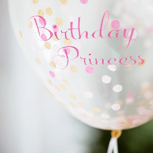 Prinsesse-3 Detvier Børnefødselsdag temafest