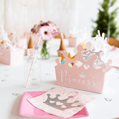 Prinsesse-6 Detvier Børnefødselsdag temafest