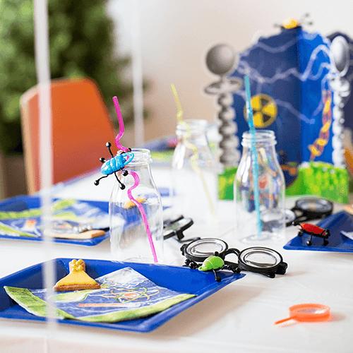 Science-5 Detvier Børnefødselsdag temafest