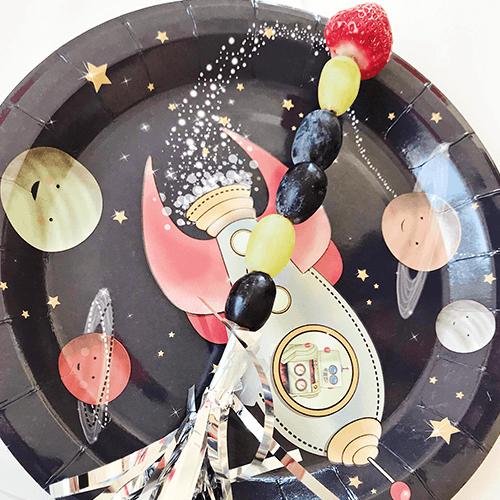 Space-9 Detvier Børnefødselsdag temafest
