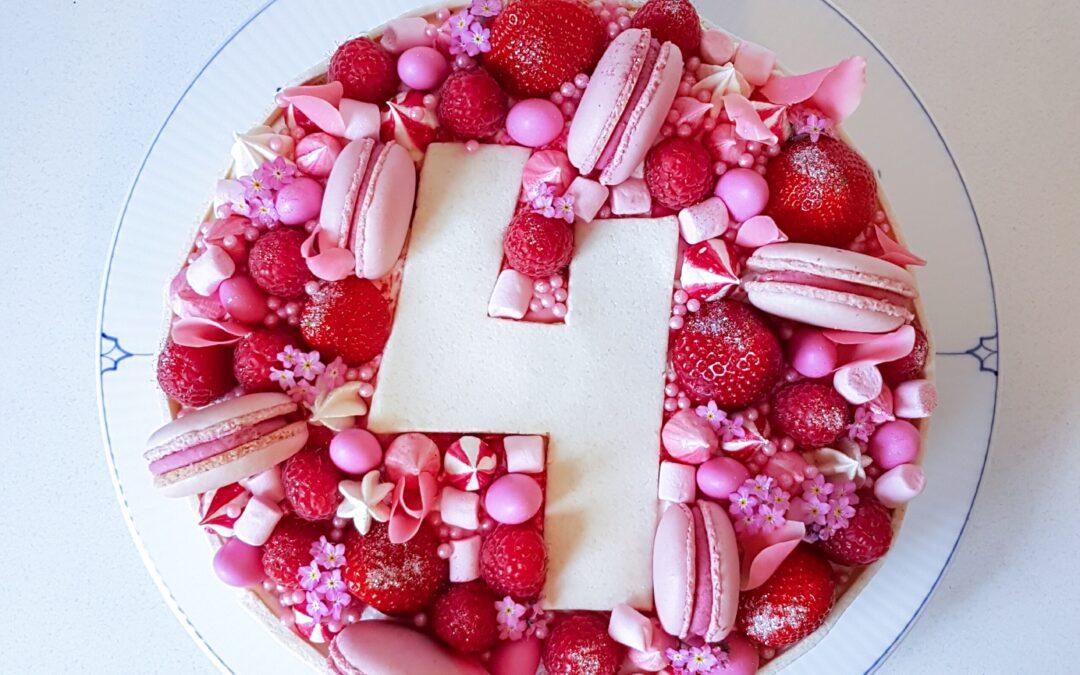 Her får du talentfulde Astrid fra Kagelands bud på en fødselsdagskage