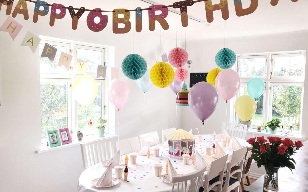 Børnefødselsdag – Når fødselaren næsten er teenager.