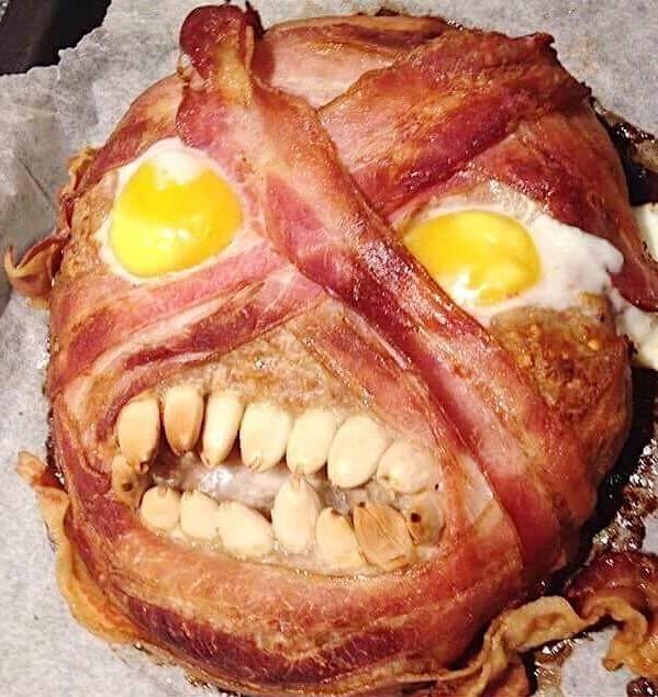 Mumificeret Halloween Farsbrød 🎃