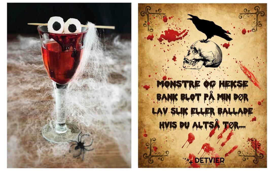 Er du klar til Halloween ?