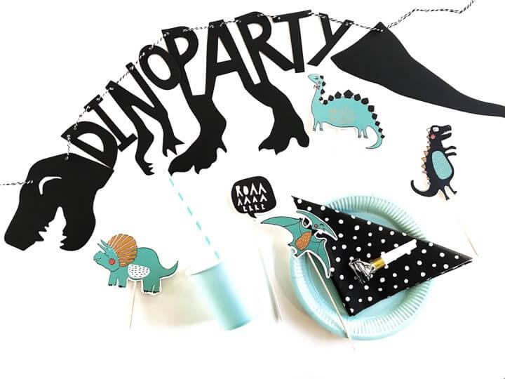 Dino Party_detvier_forside