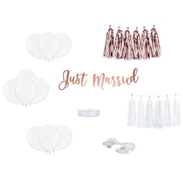 Bryllups Bil dekorations kit